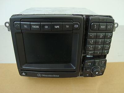 Mercedes Benz S-Klasse W220 W215 Cl Navi Comand 2.5 A2208203789 Radio-CD
