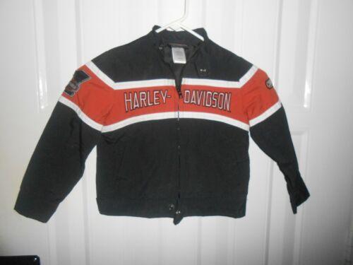 HARLEY DAVIDSON MOTORCYCLE JACKET COAT SIZE YOUTH KIDS 5