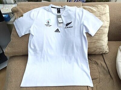 Adidas New Zealand Rugby World Cup 2019 Away Shirt XL Brand New With Tags Mint