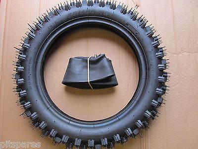 Tyre Inner Tube 80/100-12 Knobbly Rear Pit Dirt Bike Pitbike 3.00-12 300/12 MX