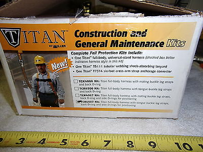Miller Tck4507 Titan Fall Protection Kit - New - Made In Mexico