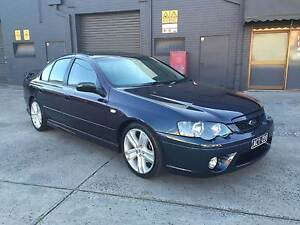 2006 Ford Falcon BF Mk 2 XR6 TURBO 6 SPEED MANUAL FANTASY West Footscray Maribyrnong Area Preview