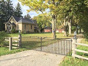 20 acre Hobby Farm with Horse Facilities and Ontario Cottage