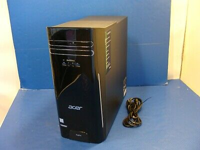 Acer Aspire TC-780 AT6W1 Desktop PC Tower i7-7700 3.6Ghz 256GB SSD 8GB DVD-RW SD