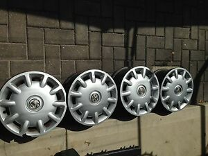 Holden Astra GM 14'Steel Rims and hubcaps Kurralta Park West Torrens Area Preview