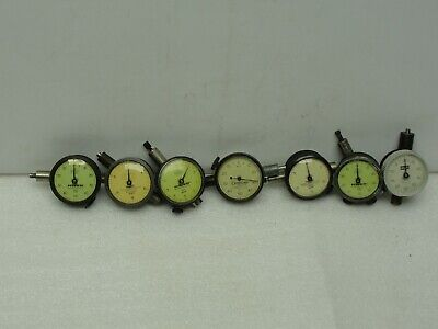 7 Used Federal Standard Lufkin Dial Gauges Miracle Movement.