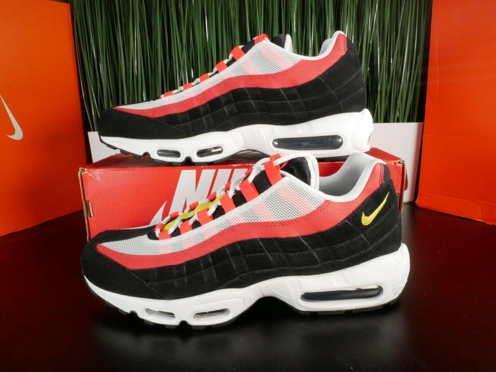 nike air max 95 premium red and black