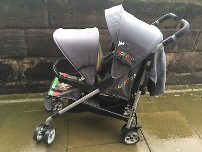 Cosatto Twin Double Tandem Pushchair Buggy Stroller Excellent Condition for sale  Berwick-upon-Tweed