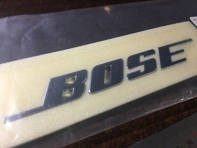 "Genuine Renault- Nissan ""BOSE"" sound Tailgate Trunk Emblem"