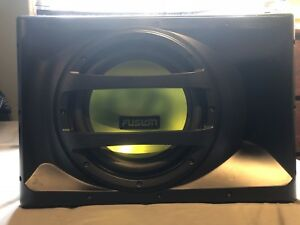 """Fusion 12"""" 1000w all in one Sub/Box/Amp Combo"""