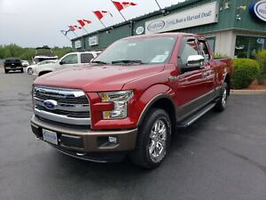 2016 Ford F-150 Lariat TOW PACKAGE/REMOTE START/COOLED AND HE...