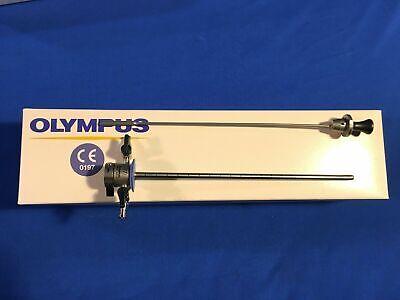 Olympus A20911a 17fr Cysto Uretheroscope Sheath W A20903a Blind Obturator Set