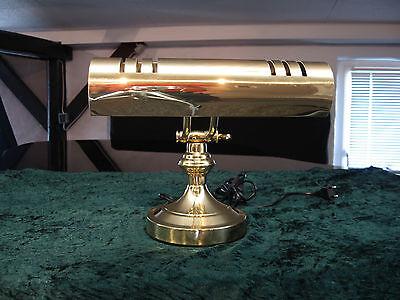 B-Ware Klavierlampe Leuchte  Messing  Schreibtischlampe Antik keine retourware