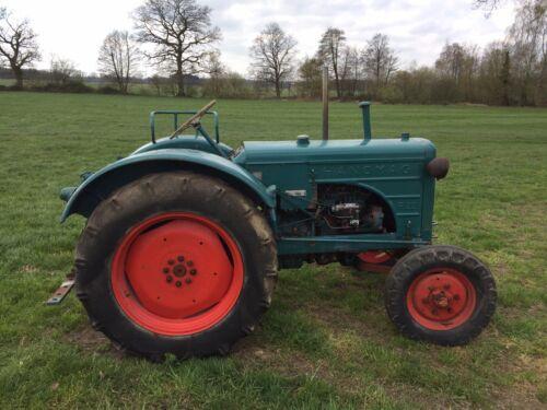 Hanomag R22 Oldtimer Traktor Schlepper Bj.1955 original Brief!