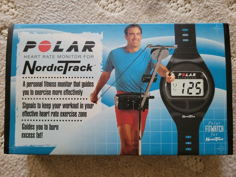 Polar Nordic Track Heart Rate Monitor Fit Watch & Polar Chest Strap With Manual