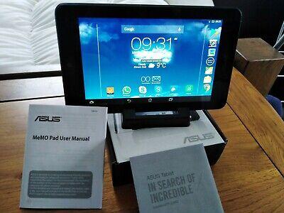 Asus Memo Pad HD7 Android Tablet 16GB K00B (ME173X) Wifi Black and Dark Blue comprar usado  Enviando para Brazil
