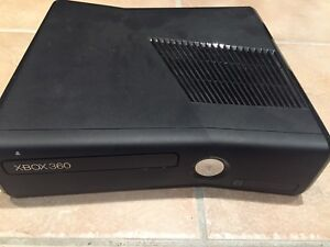 Xbox 360 with Kinect and headset/controller