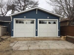 Garage doors & Openers installation and service out side WPG.