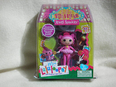 Collectible Mini Lalaloopsy Silly Fun House Jewel Sparkles #4 of Series 10 NEW (Jewel Lalaloopsy)