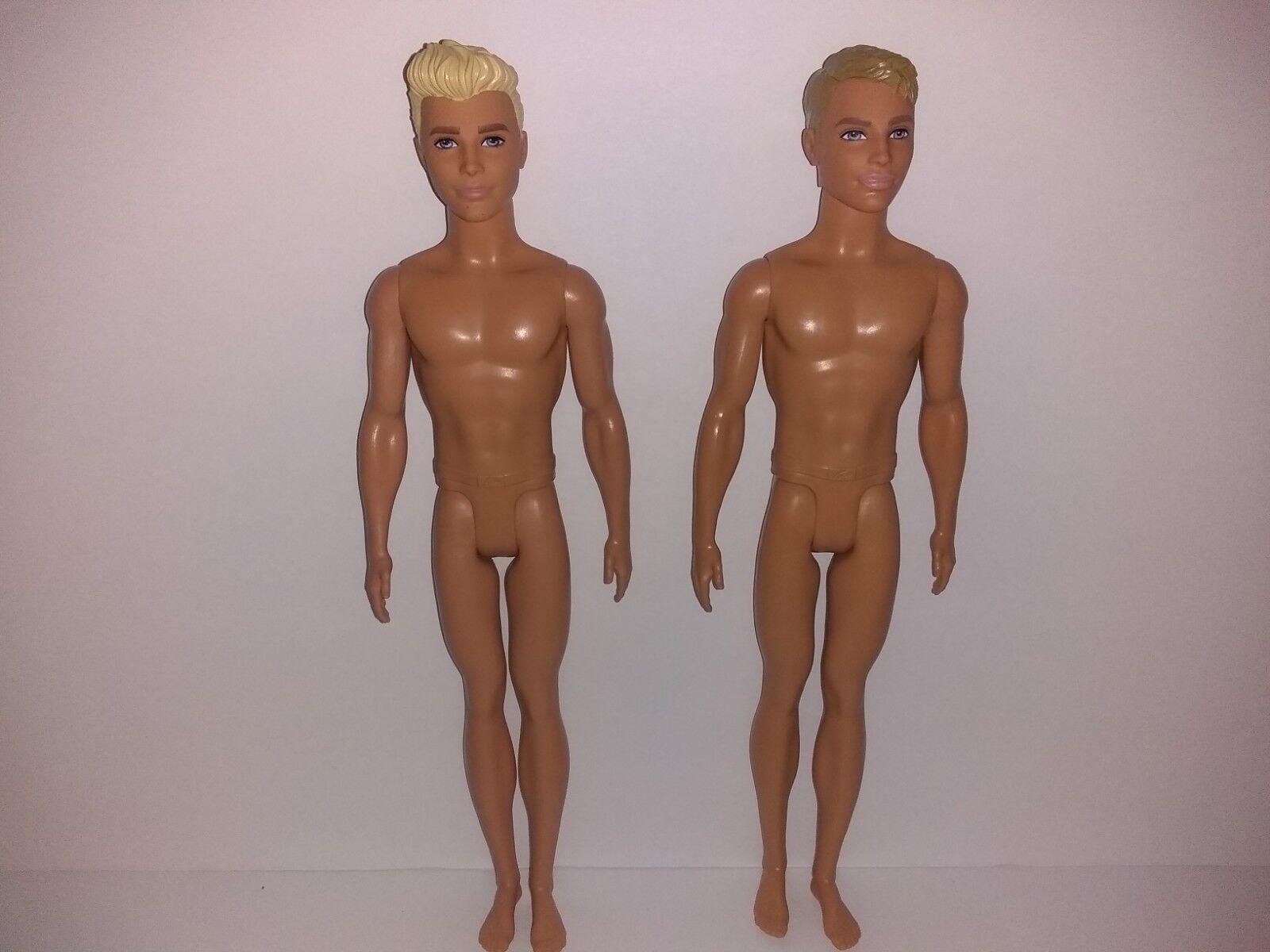 """Fashionista  Ken Doll /""""NUDE DOLL/"""" SHORT SLIM BODY Freckles"""