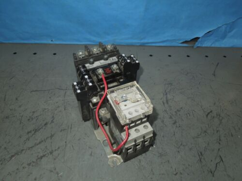 Allen Bradley 509-B0D Size 1 FNVR Starter 120V Coil 5.4-27A 592-EEEC E1 Overload