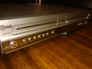 VCR/DVD combo LG V8824W Woodville Gardens Port Adelaide Area Preview