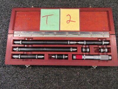Ls Starrett Brown Sharpe Inside Micrometer Machinist Mill Inspection Cnc Gage