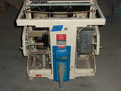 GENERAL ELECTRIC GE GE GE AK-2A-75-1 3000 AMP I-TEKTOR LSI AIR CIRCUIT BREAKER