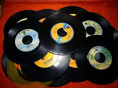Lot of 19 Pop & Rock 45 RPM Records ABBA Nazareth Rod Stewart Eagles Chuck Berry