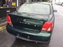 1999 TOYOTA ECHO 1.5 SEDAN MANUAL RWC & 6 MONTHS REG GREAT CAR Miami Gold Coast South Preview
