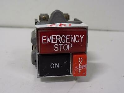 Emergency Stop Button 120v