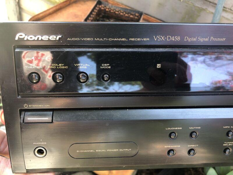 Pioneer Vsx-d458