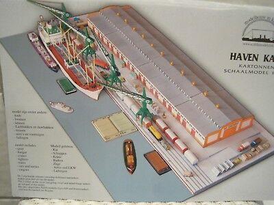 Hafen Diorama 1:250 Kartonbausatz *NEU*  Bastelbogen