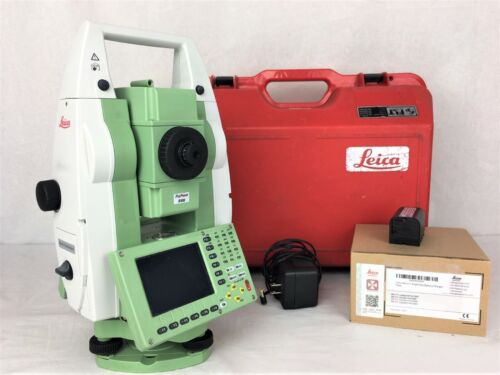 """2009 Leica TCR1203+ R400 3""""  Reflectorless Total Station"""