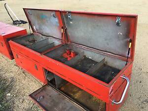 Truck/ute tray steel toolboxes and trundle tray.Service box Inverell Inverell Area Preview
