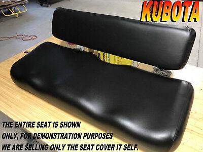 Kubota Rtv900 New Seat Cover 2006-10 Rtv 900 Black 982b