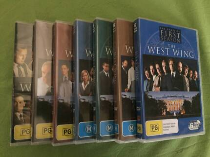 West Wing TV Series DVD Season 1-7 Complete Total White House