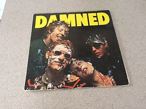 Vinyl 33 tours the Damned
