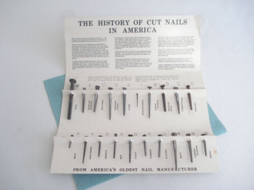 Tremont Nail Co. HISTORY OF CUT NAILS IN AMERICA Portfolio Restoration Guide