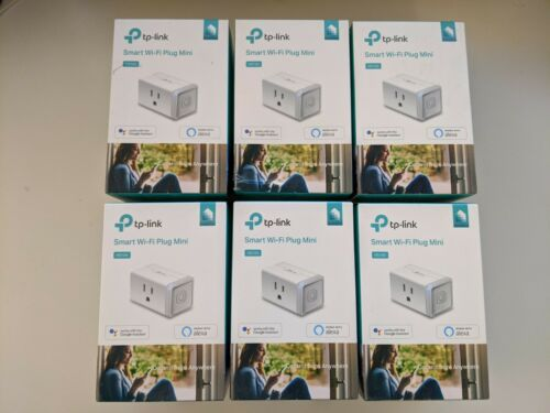 **NEW** 6x TP-LINK HS105 Kasa Smart Wi-Fi Mini Plug - White