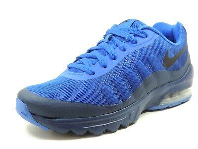 Nike Air Max Invigor Print Mens Shoes 749688 001/402 Running Blue Black Mesh
