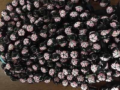 Kukui Nut Lei Pink Flower Hawaii Wedding Graduation  free shipping  - Pink Leis