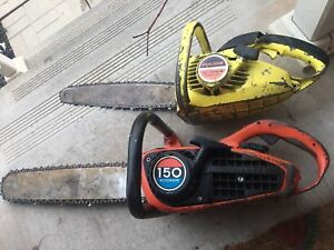 Homelite 150 and skill chainsaw