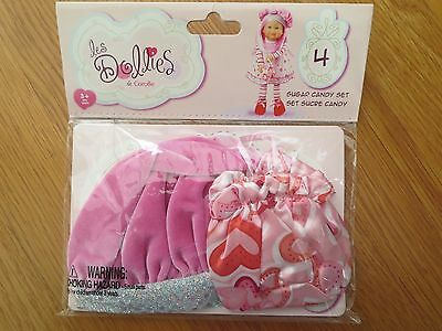 (Corolle les Dollies Sugar Candy Set NWT)