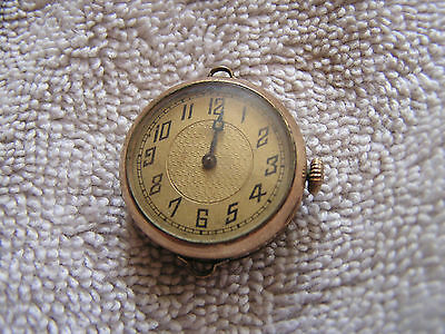 Vintage Antique Mars 15 Jewels  Women's Pocket Watch