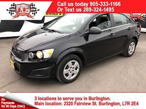 2016 Chevrolet Sonic LT, Automatic, Heated Seats, Bluetooth