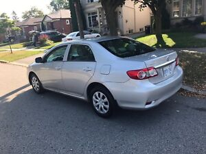 2012 Toyota Corolla One Owner Certified