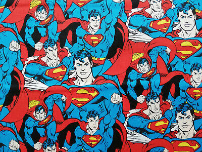 Supermann 50 X 112 cm Baumwolle Helden Comic - Rotes Superhelden Cape