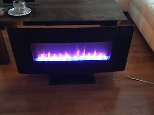 36 inch remote control fireplace-costco brand