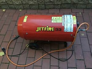 JETFIRE 33 GAS JET HEATER Northcote Darebin Area Preview